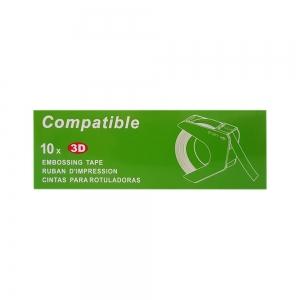 Etichete plastic embosabile compatibile Omega, 9mmx3m, roz, A520105 S0898150-C3