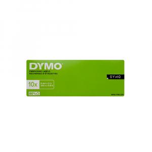 Etichete plastic embosabile DYMO Omega, 9mmx3m, negru, S0898130 S0847720 S08477301