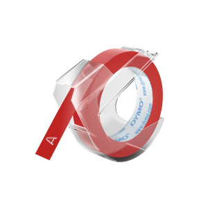 Dymo Embossing Tape 9mm, red, S0898150 S08476900