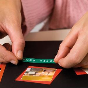 Etichete plastic embosabile DYMO Omega, 9mmx3m, verde, S0898160 S08477003