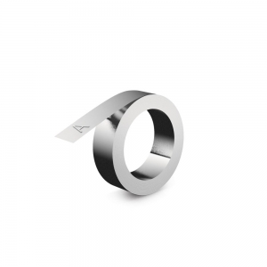 Embossing metallic industrial labels DYMO, 12mmx4,8m, aluminium, 31000 S07201601