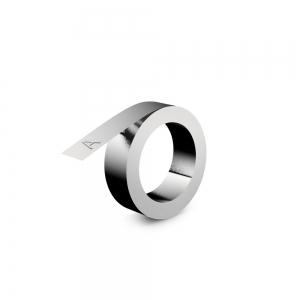 Etichete metalice embosabile industriale DYMO, 12mmx3,65m, aluminiu adeziv, 35800 S07201801