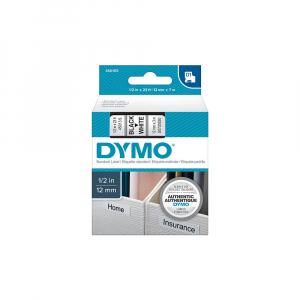 Aparat de etichetat (imprimanta etichete) DYMO LabelManager 210D Kit, QWERTY, include 2 adaptoarea la 230V si 1 caseta Dymo Labelmanager poliester 12mm x 5.5m, 2094492, 1695912