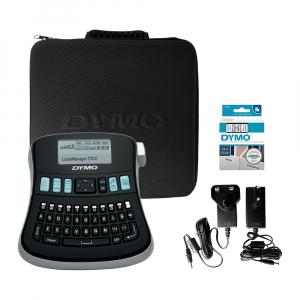 Aparat de etichetat (imprimanta etichete) DYMO LabelManager 210D Kit, QWERTY, include 2 adaptoarea la 230V, 20944920