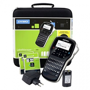 DYMO LabelManager 280 Label Maker kit case S0968990 9689900