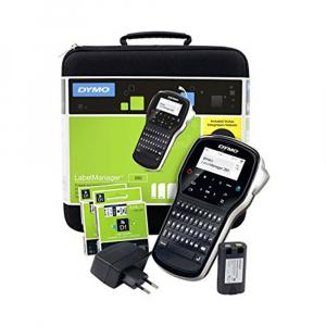 Aparat de etichetat (imprimanta etichete) DYMO LabelManager 280P, QWERTY, kit cu servieta, conectare la PC, 20911520