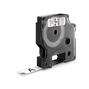 Aparat de etichetat (imprimanta etichete) DYMO LabelManager 280P, QWERTY, kit cu servieta, conectare la PC si 1 banda industriala poliester D1, 12mm x 5.5m, negru/alb, 2091152, 1695910