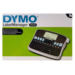 Aparat etichetat (imprimanta etichete) DYMO LabelManager 360D, AZERTY, acumulator reincarcabil inclus, S087951012