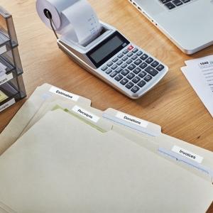 Aparat etichetat (imprimanta etichete) DYMO LabelManager 420, ABC, kit cu servieta, conectare la PC S0915480 9154809