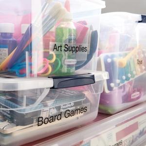 Etichete autocolante plastifiate, DYMO LabelManager D1, 24mm x 7m, negru/transparent, 53710 S07209202