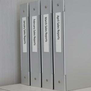 Etichete autocolante, DYMO LabelManager D1, poliester permanent, 19mm x 5.5m, negru/alb, 16960 S07180704