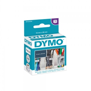 DYMO LabelWriter Return Multi-purpose labels, removable, 25mmx13mm, paper white, 11353 S07225300