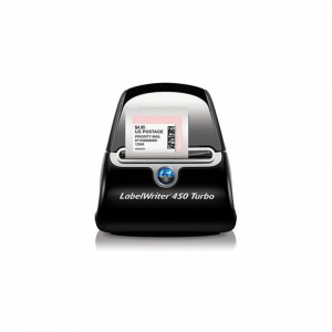Imprimanta termica etichete DYMO LabelWriter 450 Turbo si 6 x Etichete termice, DYMO LabelWriter, ecusoane/carduri medii, neadezive4