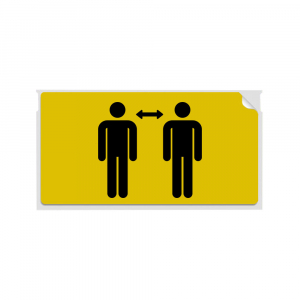 Set Etichete termice, DYMO LabelWriter, 54mmx101mm, hartie galbena, mesaje avertizare, adrese voiaj, permanente, 1 rola/cutie, 220 etichete/rola, 2133400, 990147
