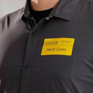 Set Etichete termice, DYMO LabelWriter, 54mmx101mm, hartie galbena, mesaje avertizare, adrese voiaj, permanente, 1 rola/cutie, 220 etichete/rola, 2133400, 990143