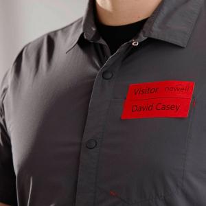 Set Etichete termice, DYMO LabelWriter, 54mmx101mm, hartie rosie, mesaje avertizare, adrese voiaj, permanente, 1 rola/cutie, 220 etichete/rola, 2133399, 990143