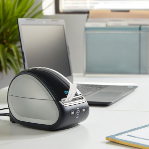 Imprimanta termica etichete DYMO LabelWriter 550, senzor recunoastere eticheta, aparat de etichetat, priza EU 21127221