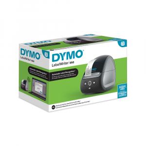 Imprimanta termica etichete DYMO LabelWriter 550, senzor recunoastere eticheta, aparat de etichetat, priza UK 21127276
