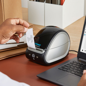 Imprimanta termica etichete DYMO LabelWriter 550, senzor recunoastere eticheta, aparat de etichetat, priza EU 21127223
