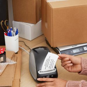 Imprimanta termica etichete DYMO LabelWriter 550 Turbo, senzor recunoastere eticheta, aparat de etichetat, viteza printare 71 etich/min, priza UK 21127273