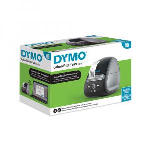 Imprimanta termica etichete DYMO LabelWriter 550 Turbo, senzor recunoastere eticheta, aparat de etichetat, viteza printare 71 etich/min, priza UK 211272710
