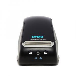 Imprimanta termica etichete DYMO LabelWriter 550 Turbo, senzor recunoastere eticheta, aparat de etichetat, viteza printare 71 etich/min, priza EU 21127230