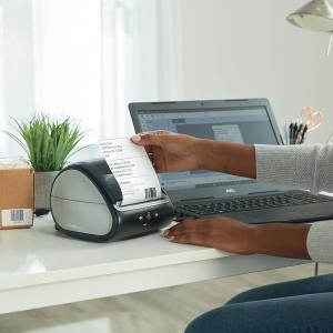 Imprimanta termica etichete DYMO LabelWriter 5XL, senzor recunoastere etichete, aparat de etichetat 21127252