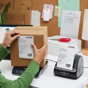 Imprimanta termica etichete DYMO LabelWriter 5XL, senzor recunoastere etichete, aparat de etichetat, priza UK 21127255