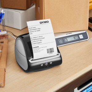 Imprimanta termica etichete DYMO LabelWriter 5XL, senzor recunoastere etichete, aparat de etichetat, priza UK 21127256