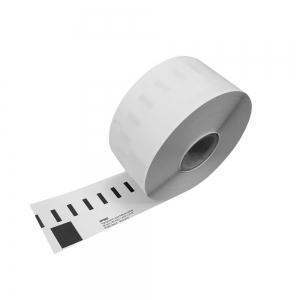 Etichete termice, DYMO LabelWriter, adrese mari, permanente, 89mmx36mm, plastic transparent, 1 rola/cutie, 260 etichete/rola, S07224107