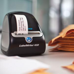 Etichete termice compatibile adrese, permanente, 28mm x 89mm, hartie alba, 130 etichete/rola, 99010 S07223704