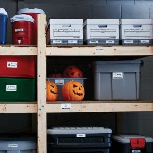 Etichete termice industriale, DYMO LabelWriter Durable, 25mmx89mm, polipropilena alba, 1 rola/cutie, 100 etichete/rola, 19762002