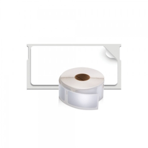 Etichete termice industriale, DYMO LabelWriter Durable, multifunctionale mici, 25mmx54mm, polipropilena alba, 1 rola/cutie, 160 etichete/rola, 19764115