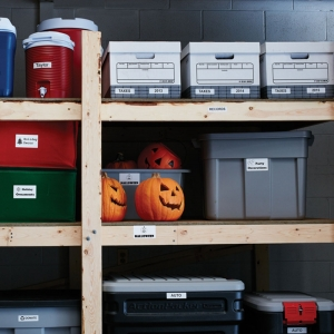 Etichete termice industriale, DYMO LabelWriter Durable, multifunctionale mici, 25mmx54mm, polipropilena alba, 1 rola/cutie, 160 etichete/rola, 19764113