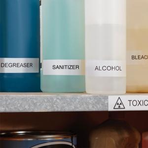 Etichete termice industriale, DYMO LabelWriter Durable, multifunctionale patrate, 25mmx25mm, polipropilena alba, 1 rola/cutie, 1700 etichete/rola, 19330832