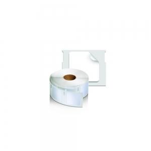 Etichete termice industriale, DYMO LabelWriter Durable, multifunctionale patrate, 25mmx25mm, polipropilena alba, 1 rola/cutie, 1700 etichete/rola, 19330831