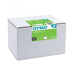 Etichete termice, DYMO LabelWriter, adrese mari, permanente, 89mmx36mm, hartie alba, 24 role/cutie, 260 etichete/rola, 2093093 99012 S07224007