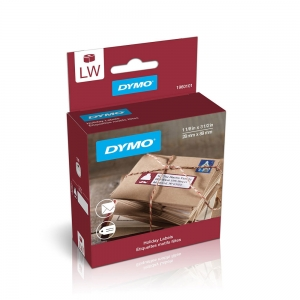 DYMO LabelWriter, Lumberjack Holiday labels, permanent, 28mmx89mm, paper white, 1 roll/box, 130 labels/roll, 1960101