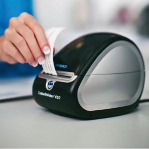 Etichete termice compatibile repozitionabile, 89mm x 41mm, hartie alba, 300 etichete/rola 11356 S0722560-C2