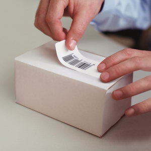 Etichete termice, DYMO LabelWriter, repozitionabile, 57mmx32mm, hartie alba, 11354R S07225403
