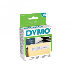 DYMO LabelWriter Multi-purpose labels, removable, 19mmx51mm, paper white, 11355 S07225504