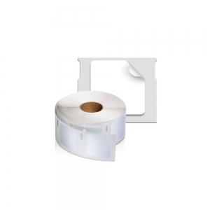 Etichete termice, DYMO LabelWriter, multifunctionale, patrate, permanente, 25mmx25mm, hartie alba, 1 rola/cutie, 750 etichete/rola, S09291201