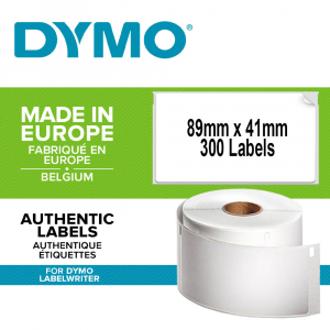 Etichete termice, DYMO LabelWriter, repozitionabile, 89mmx41mm, hartie alba, 11356 S07225600