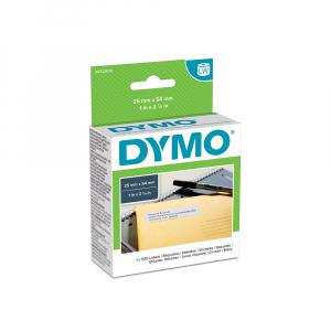 Etichete termice, DYMO LabelWriter, repozitionabile, 25mmx54mm, hartie alba, pentru adrese, 11352 S07225204