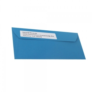DYMO LabelWriter Return address international labels, removable, 25mmx54mm, paper white, 11352 S07225201