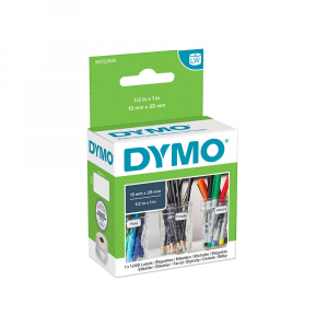 Etichete termice, DYMO LabelWriter, repozitionabile, 25mmx13mm, hartie alba, 11353 S07225305