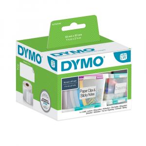 Etichete termice, DYMO LabelWriter, repozitionabile, 57mmx32mm, hartie alba, 11354 S07225404