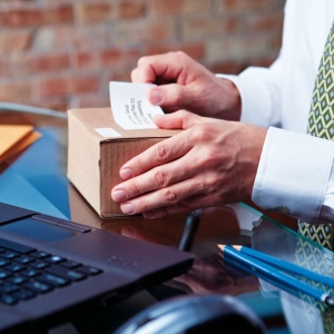 Etichete termice compatibile adrese voiaj, permanente, 54mmx101mm, hartie alba, 220 etichete/rola, 99014 S07224301