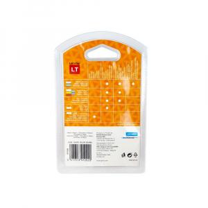 Set EtichetatorDymo LetraTagLT-100H Plus Albastru, ABC, etichete plastic autocolante galbene DYMO LetraTag si o banda hartie alba17