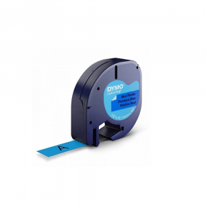 Set EtichetatorDymo LetraTagLT-100H Plus Black Edition, ABC si 3 benzi originale Dymo, rosu, galben si albastru17
